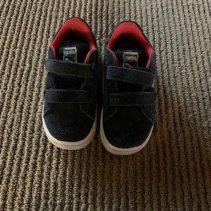 Puma Shoes - Boys Suede Pumas